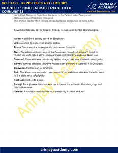 NCERT Solutions for Class 7 History Chapter 7 Tribes, Nomads and Settled Communities image 6
