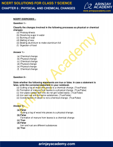 NCERT Solutions for Class 7 Science Chapter 6 image 1
