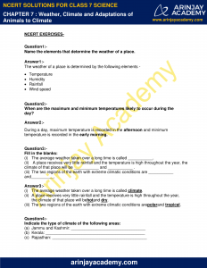 NCERT Solutions for Class 7 Science Chapter 7 image 1