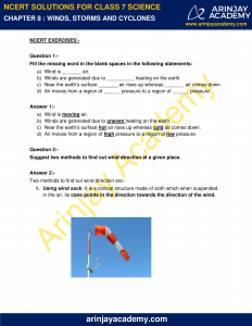 NCERT Solutions for Class 7 Science Chapter 8 image 1