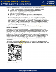 NCERT Solutions for Class 8 Civics Chapter 10 Law and Social Justice image 3