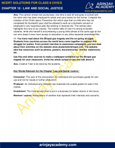 NCERT Solutions for Class 8 Civics Chapter 10 Law and Social Justice image 4