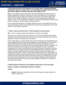 NCERT Solutions for Class 8 Civics Chapter 5 Judiciary image 3