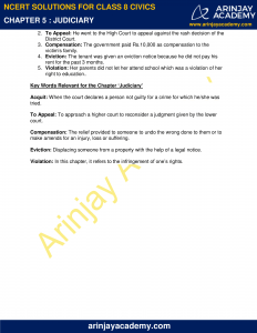 NCERT Solutions for Class 8 Civics Chapter 5 Judiciary image 4
