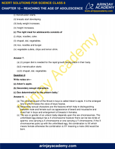 NCERT Solutions for Class 8 Science Chapter 10 Reproduction in Animals image 3
