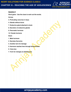 NCERT Solutions for Class 8 Science Chapter 10 Reproduction in Animals image 4