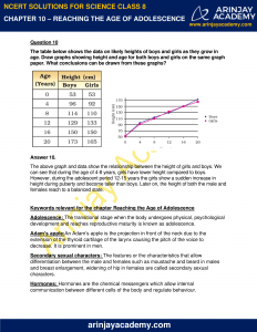 NCERT Solutions for Class 8 Science Chapter 10 Reproduction in Animals image 6