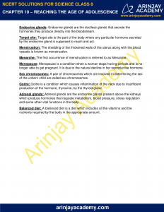 NCERT Solutions for Class 8 Science Chapter 10 Reproduction in Animals image 7