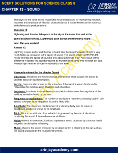 NCERT Solutions for Class 8 Science Chapter 13 Sound image 5