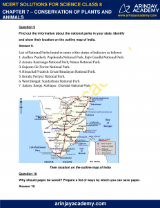 NCERT Solutions for Class 8 Science Chapter 7 Conservation of Plants and Animals image 6