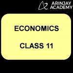 Economics Class 11