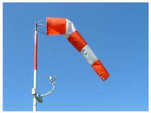 using wind sock