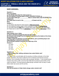 NCERT Solutions for Class 8 History Chapter 4 Tribals, Dikus and the Vision of a Golden Age image 1