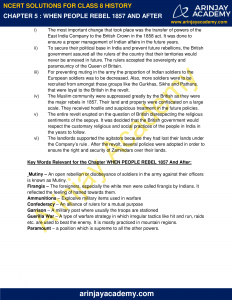 NCERT Solutions for Class 8 History Chapter 5 When People Rebel 1857 and After image 4