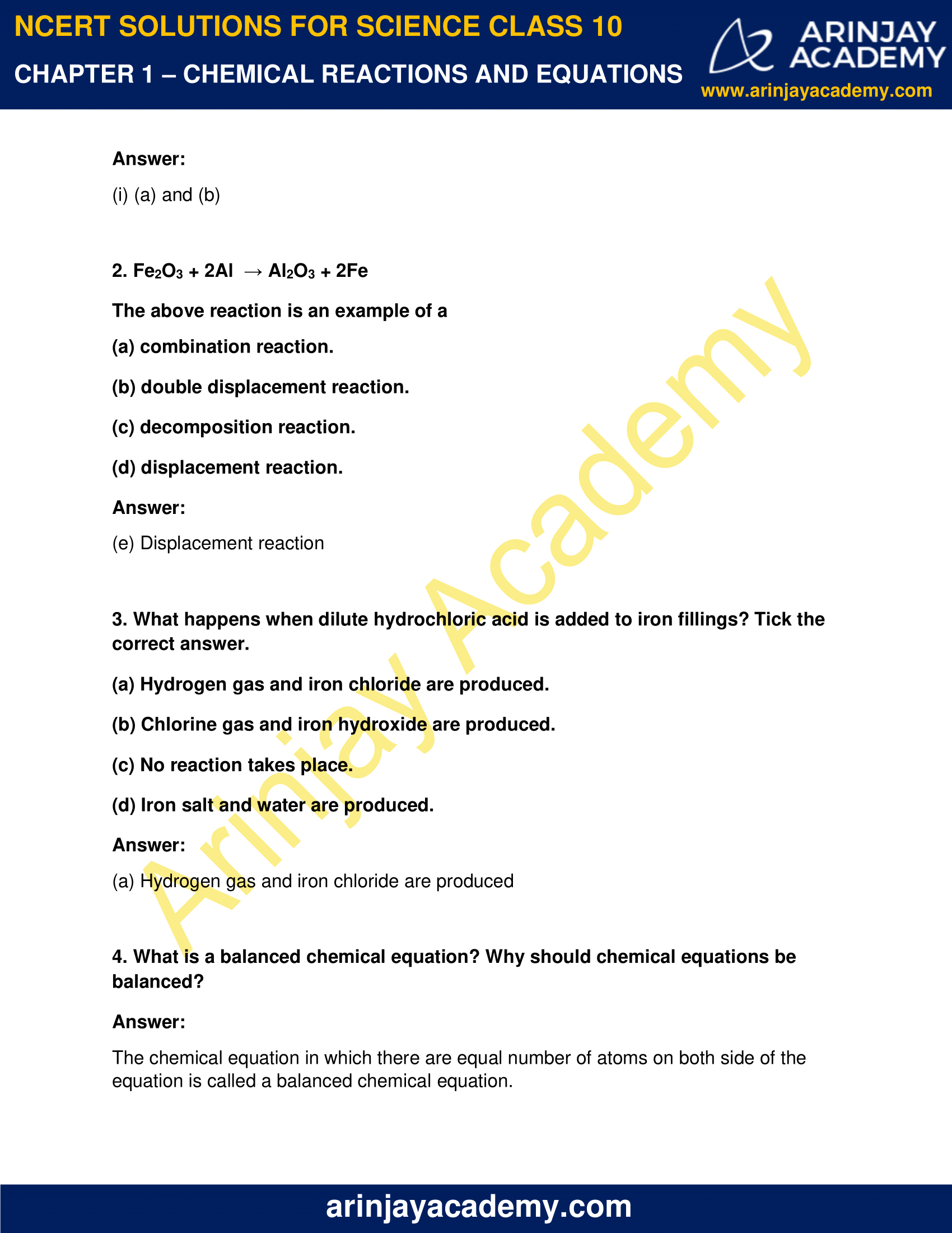 NCERT Solutions for Class 10 Science Chapter 1 image 4