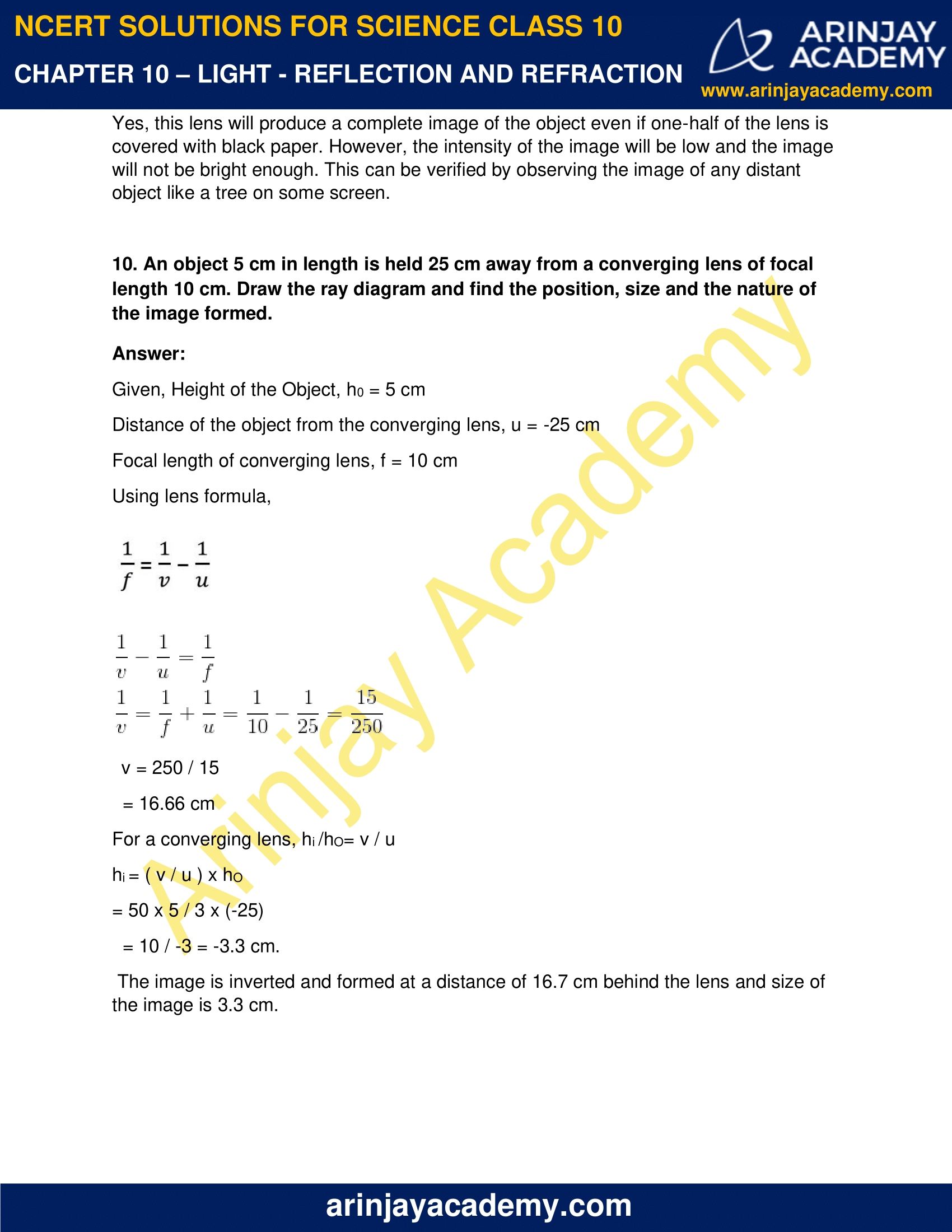 NCERT Solutions for Class 10 Science Chapter 10 image 10