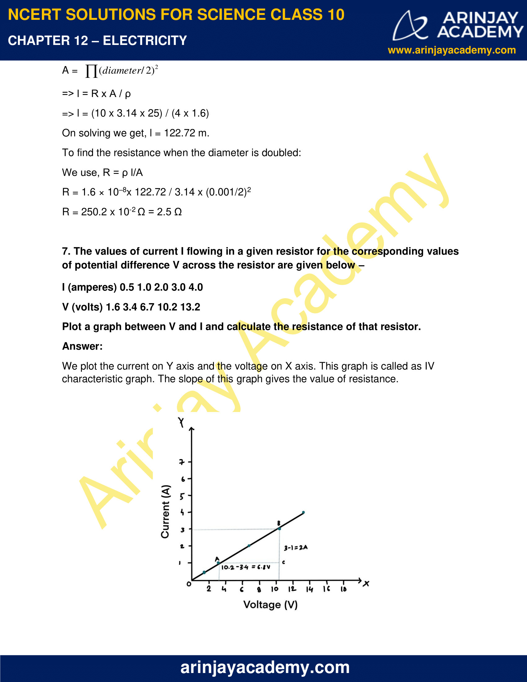 NCERT Solutions for Class 10 Science Chapter 12 Electricity image 15