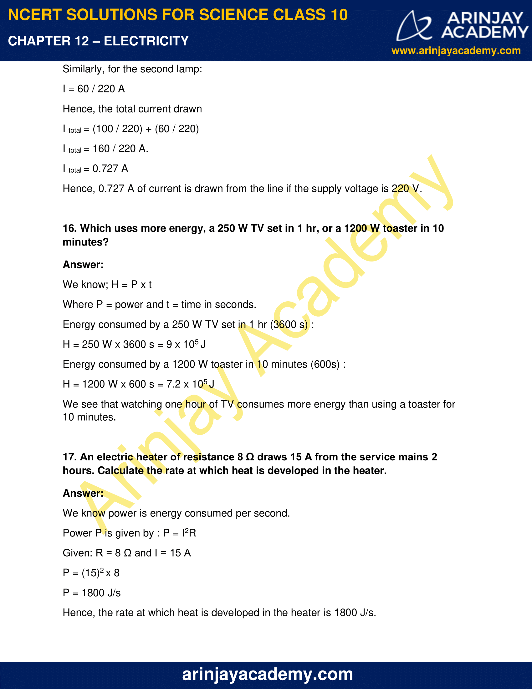 NCERT Solutions for Class 10 Science Chapter 12 Electricity image 21