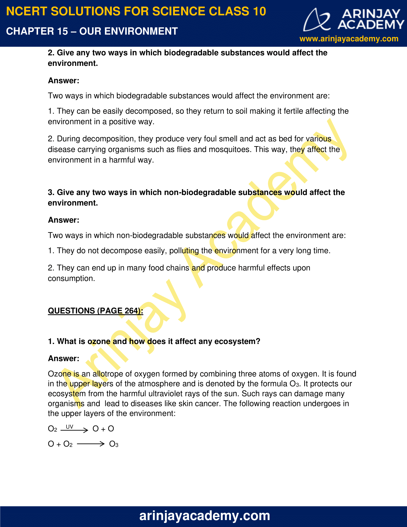 NCERT Solutions for Class 10 Science Chapter 15 image 2