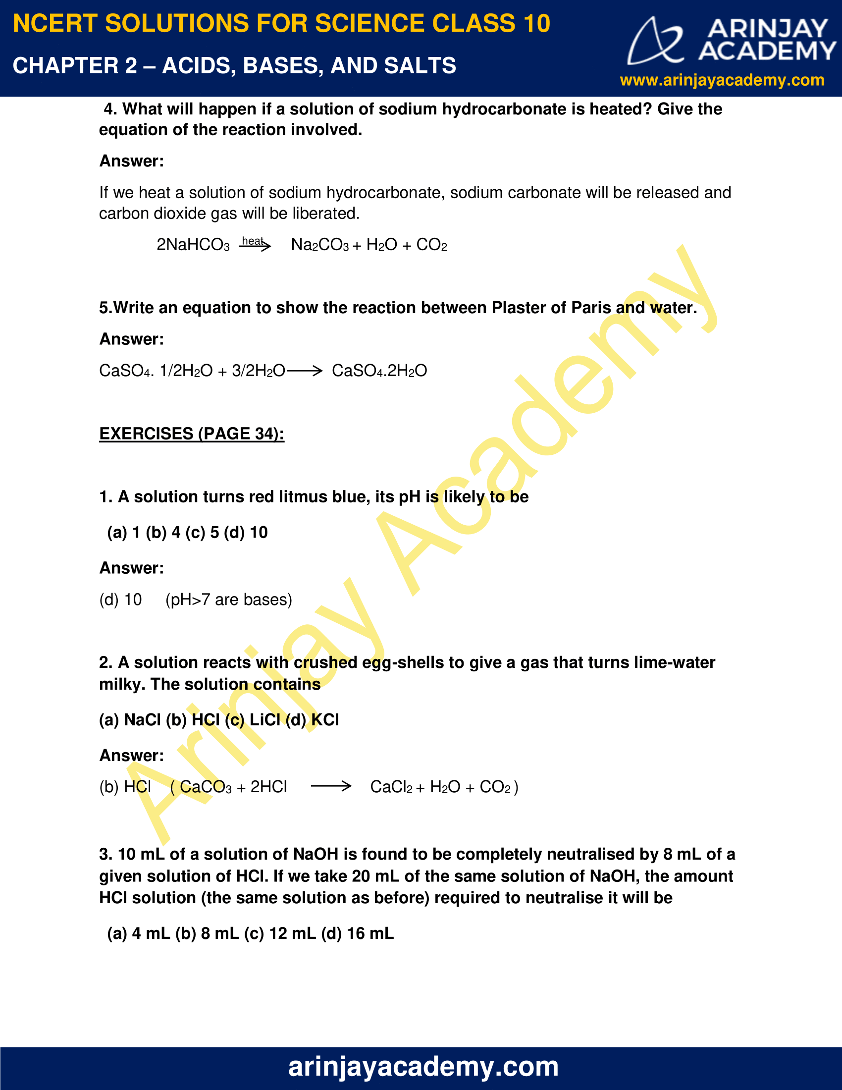 NCERT Solutions for Class 10 Science Chapter 2 image 5