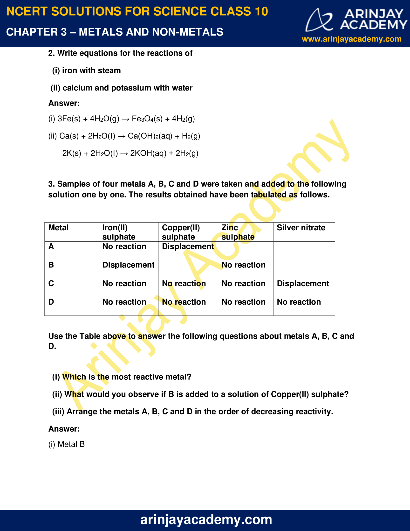 NCERT Solutions for Class 10 Science Chapter 3 image 2