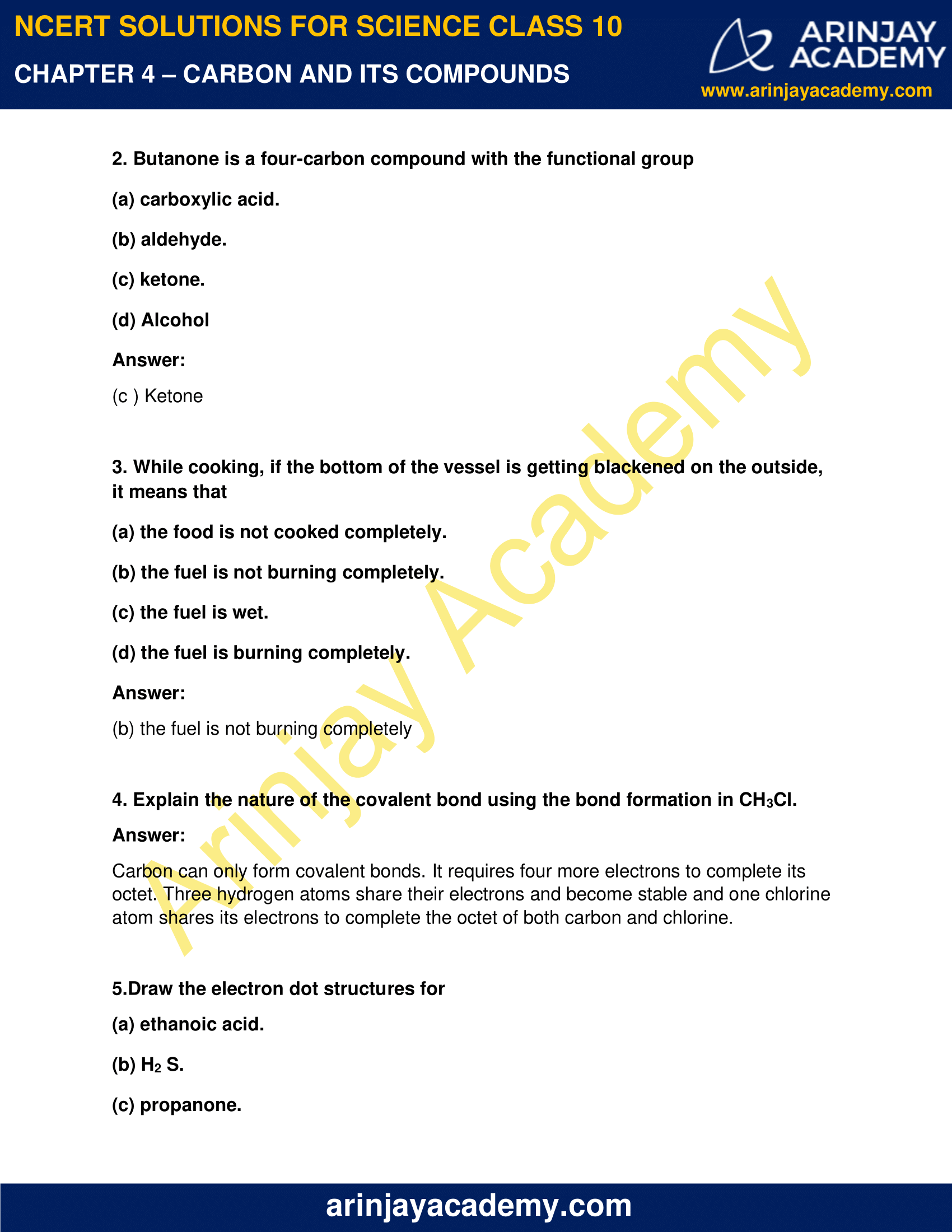 NCERT Solutions for Class 10 Science Chapter 4 image 7