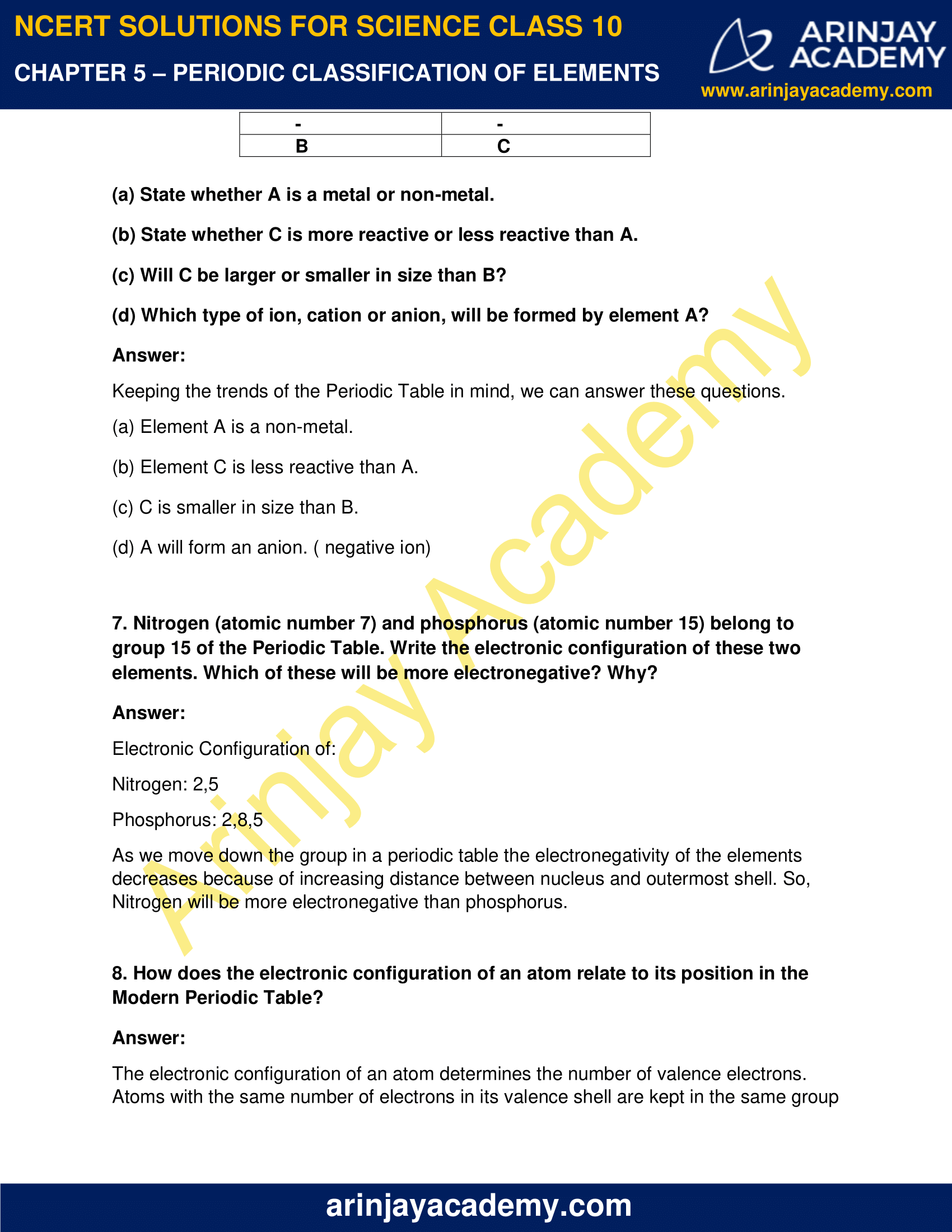 NCERT Solutions for Class 10 Science Chapter 5 image 7