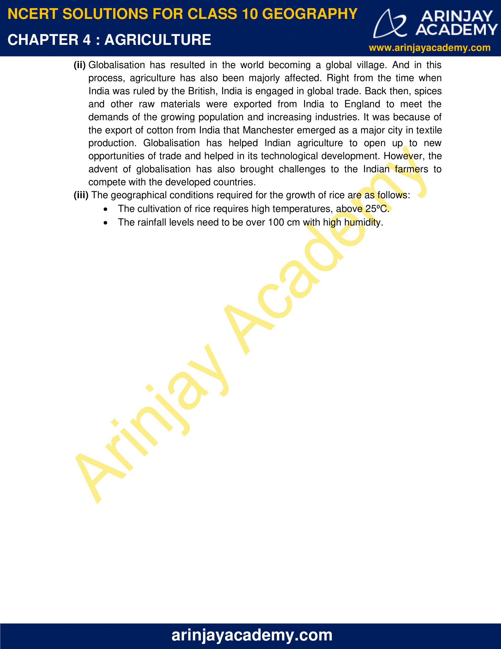 NCERT Solutions for Class 10 Geography Chapter 4 image 3